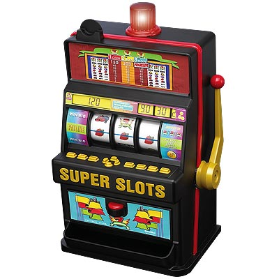 Super Slots - Real Slot Machine Wheels, Lights and Display photo - Click to see a larger version.